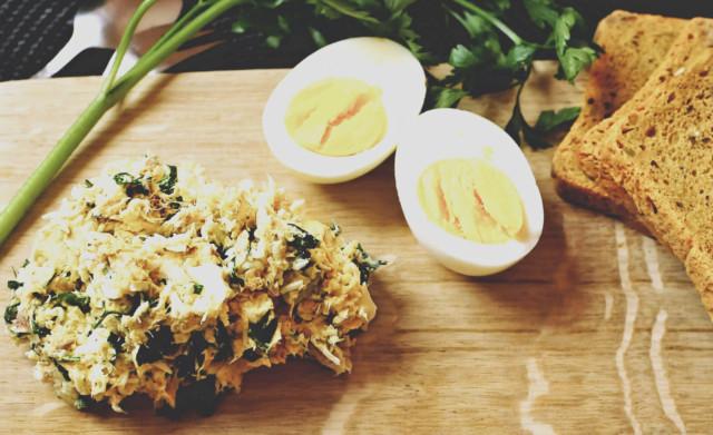 Pasta jajeczna w wersji fit