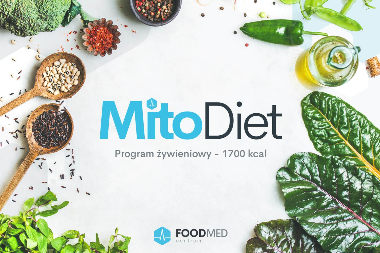 Program żywieniowy MitoDiet 1700 kcal